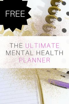 Mental Health Resources: My Planner - Radical Transformation Project