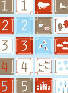 Free download: memory to practice counting #winter #printable #math