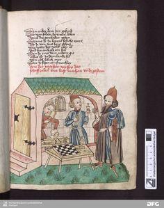 Schachzabelbuch - Cod.poet.et phil.fol.2 Titelbeschreibung Konrad <von Ammenhausen>Hagenau1467
