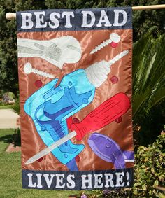 Look what I found on #zulily! 'Best Dad' Large Flag by Two Group Flag Co. #zulilyfinds