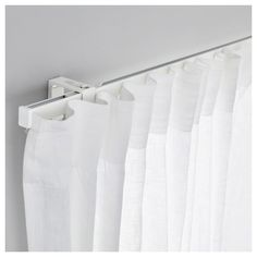 curtain rails ikea vidga single track rail the rail can be cut to the desired hcnxwha - Design Ideas 2019 Ikea Curtains, Ikea Curtain Rods, Curtain Rails, Cool Curtains, Curtains With Blinds, Panel Curtains, Curtain Holder, Curtain Track System, Home Office Design
