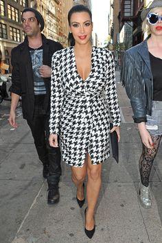 Kim Kardashian  Salvatore Ferragamo trench coat