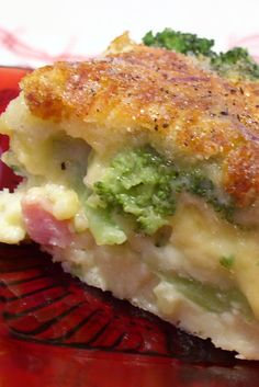 Little Miss Suzy Q: Ham and Broccoli Quiche  Great idea for leftover thanksgiving ham:)