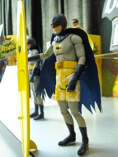 Surfing Batman Action Figure