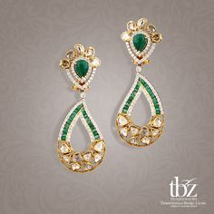 Spell opulent splendor each time, when you indulge in these beautiful indo-western earrings.