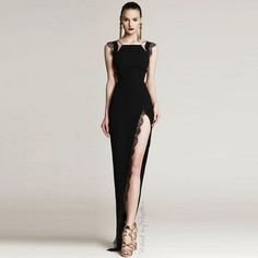 New Women Fashion Sexy Lace Black  White Long Bandage Dress 2016 Knitted Bodycon Designer Dress-in Dresses from Women's Clothing & Accessories on Aliexpress.com | Alibaba Group