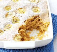 Microwave banana pudding haft cup brown sugar and cup flour with 1/2 t salt and baking powder