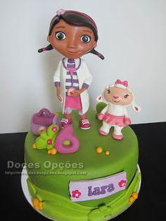 Doces Opções: A Lãzinha e a Doutora Brinquedos no 6º aniversário...