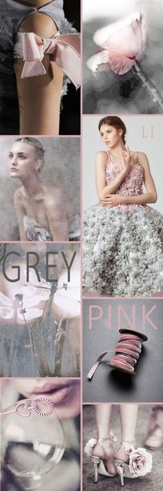 "Hi Ladies. Let's pin "" PINK AND GREY "" next. Thank you and Happy Pinning❤"