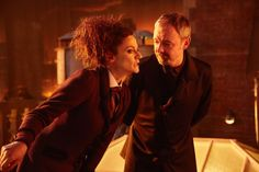 Doctor Who S10 - The Doctor Falls - The Master (JOHN SIMM), Missy (MICHELLE GOMEZ) - (C) BBC/BBC Worldwide - Photographer: Simon Ridgway