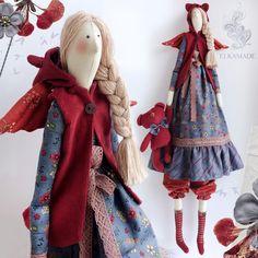 Купить или заказать Интерьерная кукла Тильда Элен в интернет-магазине на Ярмарке Мастеров. Интерьерная кукла Тильда милая Элен, дружит с медвежонком, нежно держит его за лапку и носит жилет с капюшоном с…