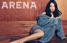 Shin Min Ah Exposes Some Skin for Arena Homme Plus   Couch Kimchi