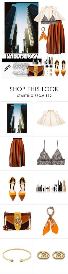 """""""Autumn outfit #12"""" by mayfl0wer21 ❤ liked on Polyvore featuring Alex Perry, Givenchy, Cosabella, Gianvito Rossi, Prada, Hermès, Gucci, Fall, outfit and clothes"""