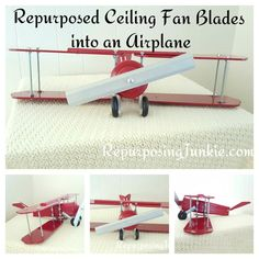 Repurposed-ceiling-fan-blades-into-an-airplane