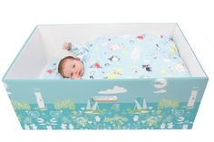 Why babies should sleep in cardboard boxes, explained in 2 charts