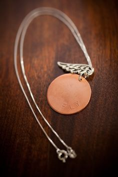 """Sometimes I just wanna """"Fly"""" away...with this, a girl can definitely dream!!! Repin and you could have one!Fly Necklace.   $38. http://www.bourbonandboots.com/store/products/fly-necklace/"""