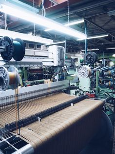 How it's made: Weaving in action at Johnstons of Elgin factory in Scotland