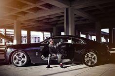 Rolls-Royce Wraith – 4 Blickwinkel (Teil 4) : Alexander Wipprecht von Max Threlfall für Heldth