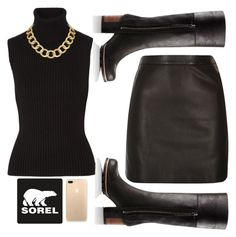 """""""Kick Up the Leaves (Stylishly) With SOREL: CONTEST ENTRY"""" by vinicius-alustau ❤ liked on Polyvore featuring SOREL, River Island, Michael Kors, House of Harlow 1960 and sorelstyle"""