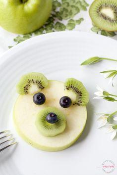 6 Bear-y Fun Breakfast Ideas For Kids + Giveaway! Toddler Snacks, Fun Snacks For Kids, Kids Meals, Food Art For Kids, Cooking With Kids, Fruit Art Kids, Fun Fruit, Fruits For Kids, Easy Cooking