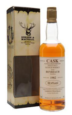 BENRIACH 1982 Original Cask Gordon & MacPhail, Speyside