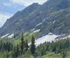 Paintbrush Canyon by Keith Bond Oil ~ 10 x 12