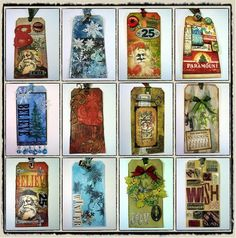Tim Holtz 12 Tags of Christmas 2008