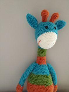 PATTERN Joshua the Giraffe - Large Amigurumi Stuffed Animal Crochet Pattern