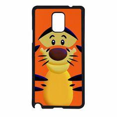 Cute Orange Cartoons Tiger Samsung Galaxy Note 4 Case