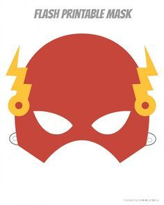 Printable Hero Masks | Flash, Thor, Ironman, Spiderman, Capt. America, Batman.