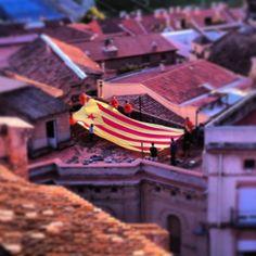 #Estelada cap al cel #Gelida #Penedes #11s2013 #femvia #ViaCatalana #Diada #ViaCatalanaTV3 #viarac1 #viacatradio #diada8aldia