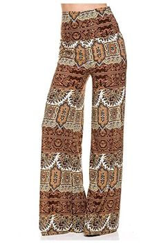 Biggest online women's wholesale clothing shop in USA. Trendy Fashion, Boho Fashion, Womens Fashion, High Waisted Palazzo Pants, Blouse Batik, Pretty Outfits, Pretty Clothes, Bohemian Print, Modest Dresses