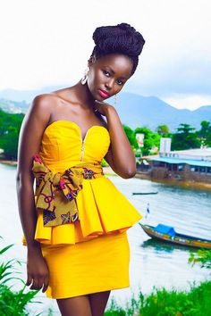 Get Gorgeous with Trend Setting Ankara Styles - Wedding Digest NaijaWedding Digest Naija African Dresses For Women, African Print Dresses, African Attire, African Wear, African Women, African Prints, African Style, African Clothes, African Inspired Fashion