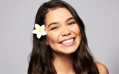 Download wallpapers Aulii Cravalho, 4k, american actress, Hollywood, beauty, brunette