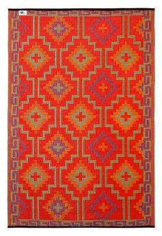 Lhasa - Orange & Violet outdoor rug <3