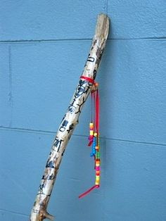 story stick... great idea for the kids for a boost of creation!