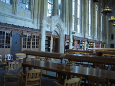 One of my favorite places on campus---the Suzzallo Library.