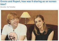 Emma Watson and Rupert Grint