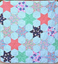 Riley Blake Designs -- Cutting Corners: Counting Stars Quilt