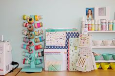 Washi tape storage idea