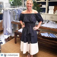 #Repost @mdsstripes @danielledrollins looking chic in the Fall Collection. #fallinlovewithstripes #fallpreview