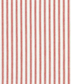 Covington Red Woven Ticking Fabric - by the Yard Covington,http://www.amazon.com/dp/B003ZFFY3U/ref=cm_sw_r_pi_dp_9yXrtb1995NB2R06; fabric for dining room chairs?