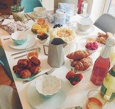 Zoella birthday party food brunch breakfast