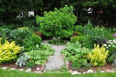circular kitchen garden