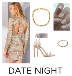 """""""Set#282"""" by anneclo2 ❤ liked on Polyvore featuring Kimchi Blue, Stuart Weitzman, Links of London and DateNight"""