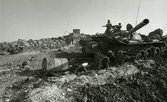 Syrian T-54 Mod.1951 destroyed by IDF, Yom Kippur War.