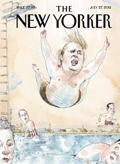 Brilliant New Yorker cover shows exactly what Donald Trump is doing to the 2016 Republican field.