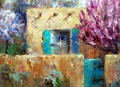 Spring+Blossoms,+New+Mexico,+painting+by+artist+Julie+Ford+Oliver