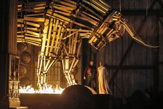 Norma from Canadian Opera Company. Production by Kevin Newbury. Sets by David Korins