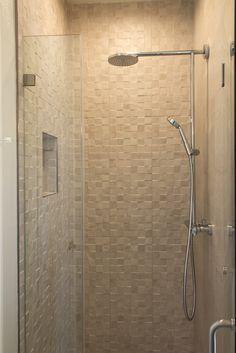 Simi Valley Project | Modern Bathroom Design | Badea | Germany Vanity | Porcelanosa Tile | Hans Grohe Shower